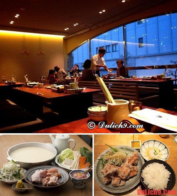 Hakata Mizutaki Toriden - Địa chỉ ăn lẩu Mizutaki ngon và nên đến nhất Fukuoka