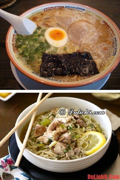 Nhà hàng Kurume Taiho Ramen - Địa chỉ ăn ramen canh sườn heo nổi bật nhất ở Fukuoka