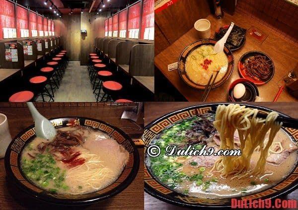 Ichiran Restaurant - Nhà hàng ramen nối tiếng nhất Nhật Bản ở Fukuoka