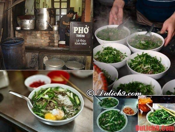 Ăn phở ở đâu, quán nào ngon, bổ, rẻ khi du lịch Hà Nội?