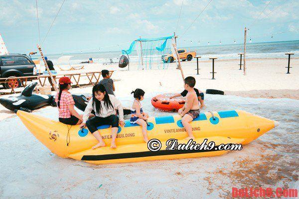 Địa điểm và các hoạt động giải trí ở Coco Beach Camp