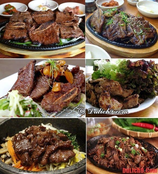 Những quán thịt nướng ngon, nổi tiếng nên đến nhất khi du lịch Seoul, Hàn Quốc giá rẻ và tự túc