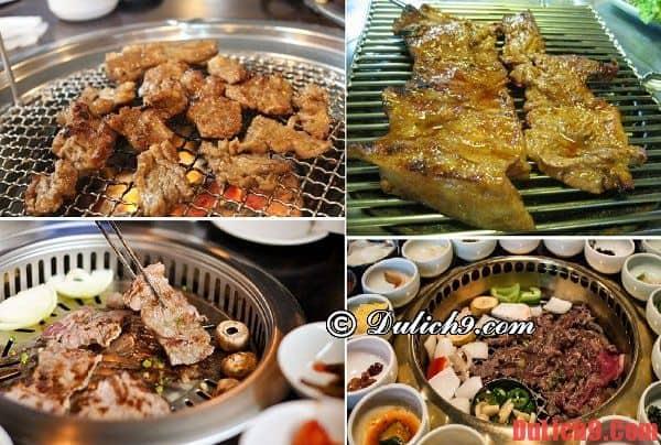 Nên ăn thịt nướng ở quán nào ngon và chất lượng khi du lịch Seoul, Hàn Quốc