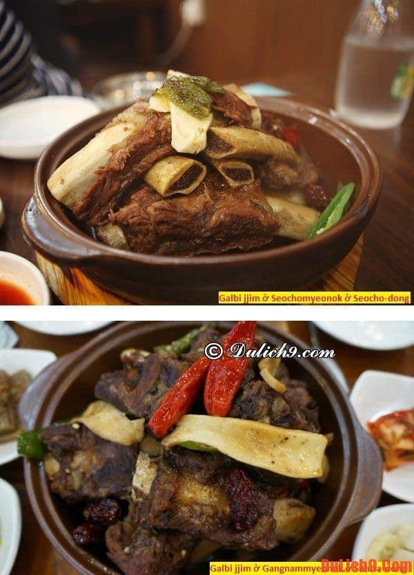 Những quán thưởng thức thịt nướng Galbi jjim ngon nhất ở Seoul, Hàn Quốc