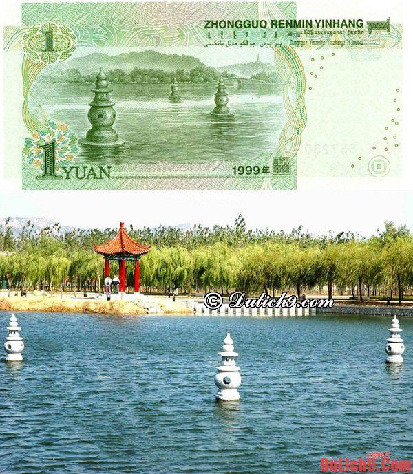 Tây Hồ, Hàng Châu - Địa danh du lịch nổi tiếng Trung Quốc trên đồng 1 Nhân dân tệ