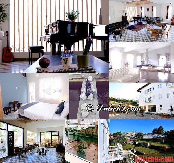 Thiết kế, nội thất và không gian hoàn hảo của Lữ Tấn - Khác sạn đẹp, tiện nghi và được đánh giá cao ở Đà Lạt