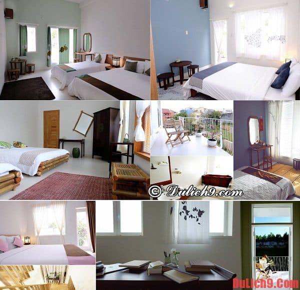 Thiết kế phòng ốc tuyệt đẹp, đơn giản và tiện nghi ở Lữ Tấn