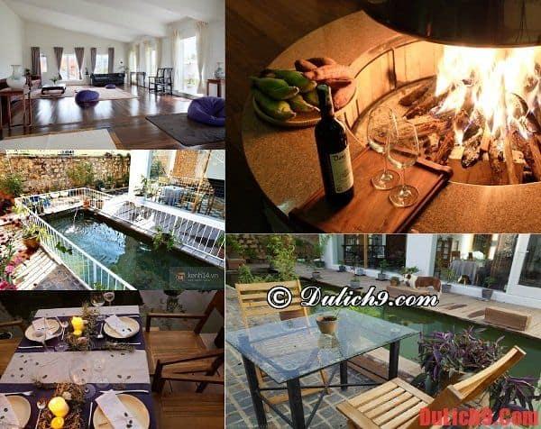 Không gian rộng rãi, thân thiện và thanh bình ở khách sạn Lữ Tấn