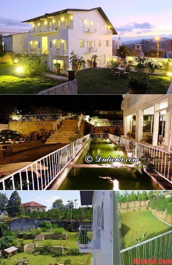 Lữ Tấn - Du lịch Đà Lạt ở khách sạn, biệt thự đẹp, rẻ và chất lượng