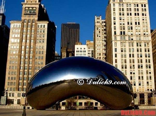 Hướng dẫn du lịch Chicago giá rẻ và thú vị