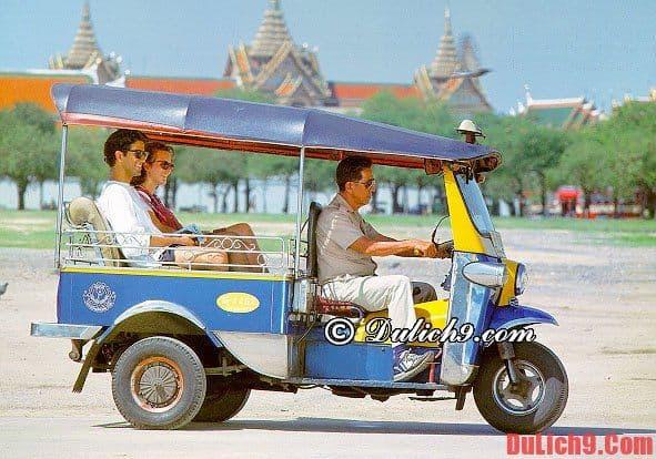Phương tiện đi lại ở Luang Prabang