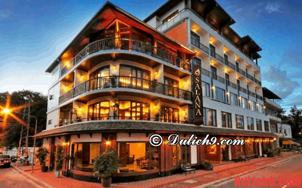 Thuê khách sạn ở Luang Prabang