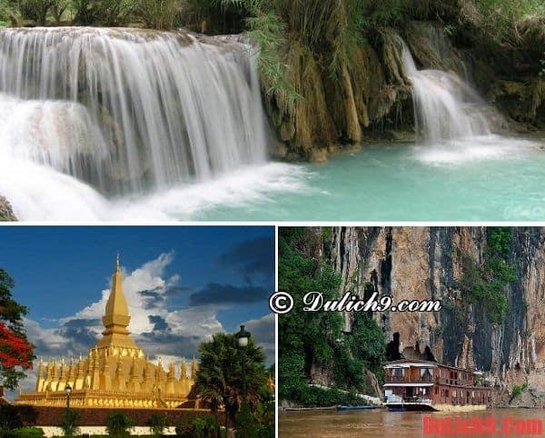 Địa điểm tham quan ở Luang Prabang
