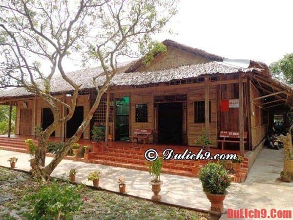Nơi lưu trú khi du lịch miệt vườn Vĩnh Long