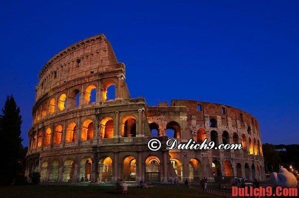 Hướng dẫn du lịch Rome lịch trình 3 ngày