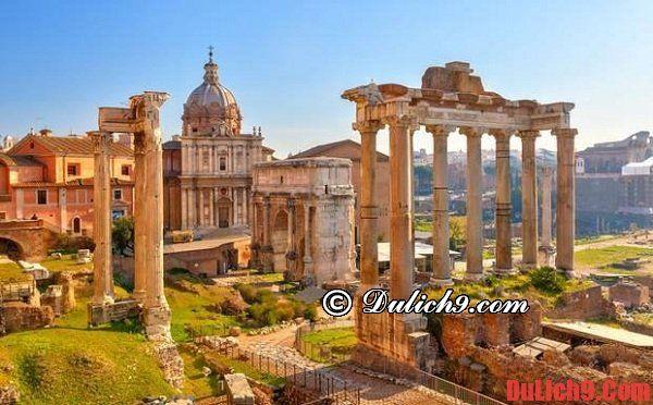 Du lịch Rome 3 ngày nên đi những đâu?