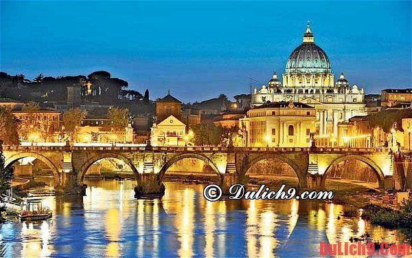 Hướng dẫn du lịch Rome lịch trình 3 ngày - địa điểm tham quan