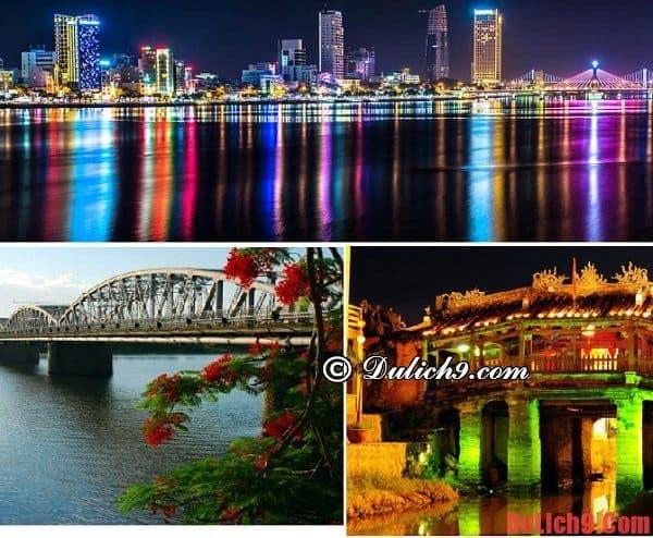 Hướng dẫn lịch trình du lịch bụi Đà Nẵng - Huế - Hội An