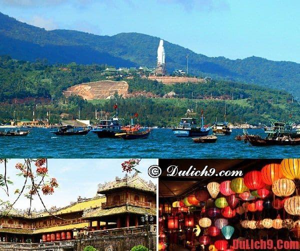 Lịch trình du lịch Đà Nẵng - Huế - Hội An dài ngày, tham quan hết các điểm du lịch