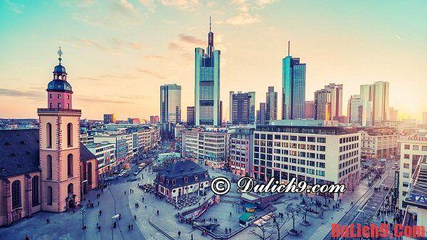 Kinh nghiệm du lịch Frankfurt, Đức tự túc cực hữ ích