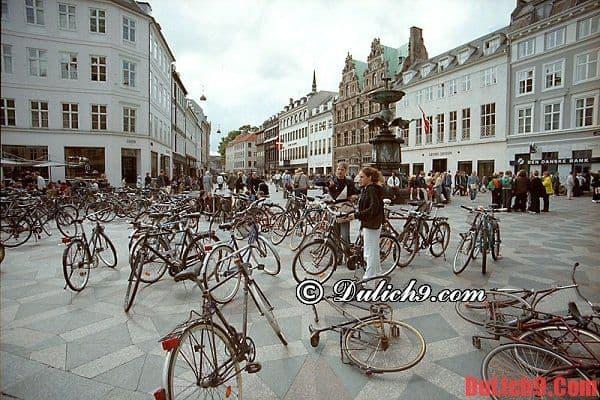 Hướng dẫn chọn phương tiện di chuyển, tham quan, du lịch Copenhagen, Đan Mạch thuận tiện nhất