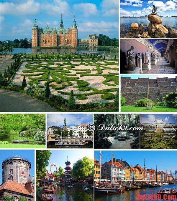 Những điểm tham quan du lịch nổi tiếng nên đi khi du lịch Copenhagen, Đan Mạch