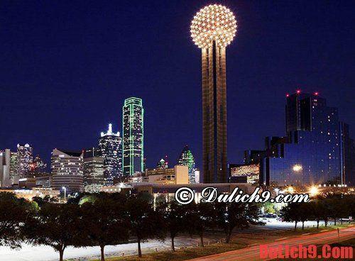 Kinh nghiệm du lịch Dallas thuận tiện