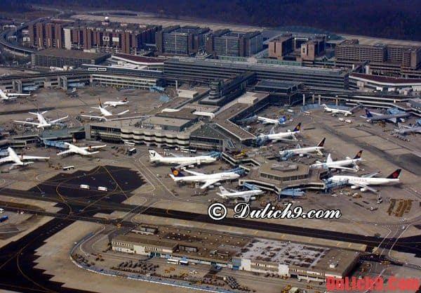 Một số kinh nghiệm quan trọng và bổ ích khi đặt vé máy bay du lịch Frankfurt, Đức