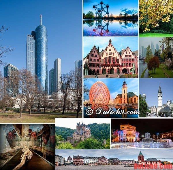 Những danh thắng không thể không đến tham quan, du lịch ở Frankfurt