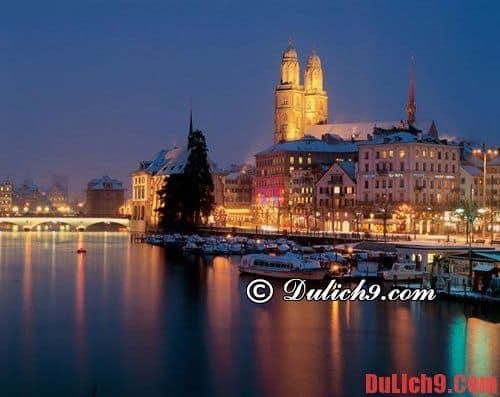 Tư vấn du lịch Thụy Sĩ, du lịch Zurich