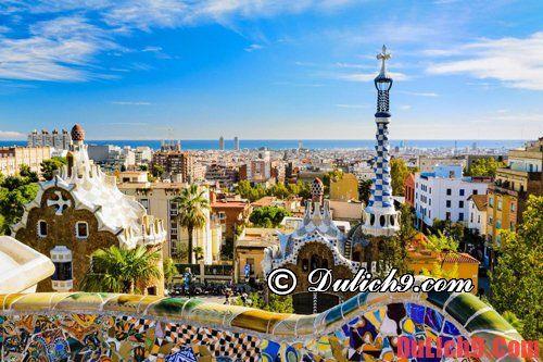 Kinh nghiệm du lịch Barcelona chi tiết