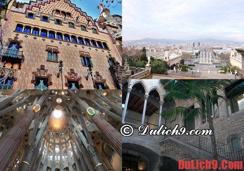 Kinh nghiệm du lịch Barcelona thuận tiện