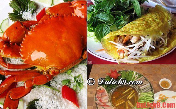 Nên ăn gì và những địa chỉ, nhà hàng ngon bổ, rẻ ở Long Hải?
