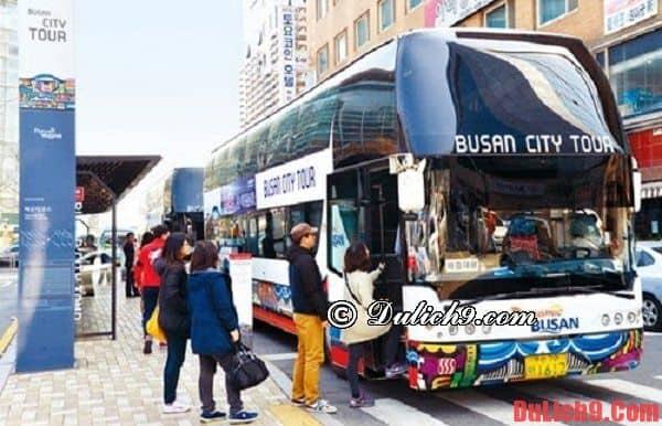 Cách du lịch tới Busan