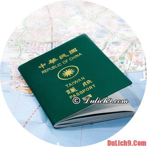 Hướng dẫn cách xin visa du lịch Taipei - Đài Bắc thuận lợi, nhanh chóng