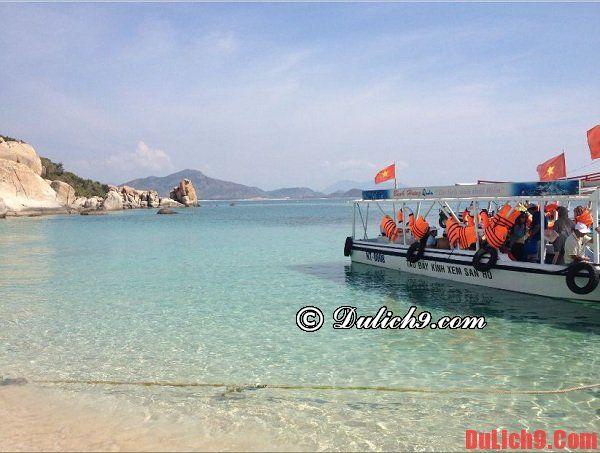 Cách di chuyển tới đảo Bình Hưng