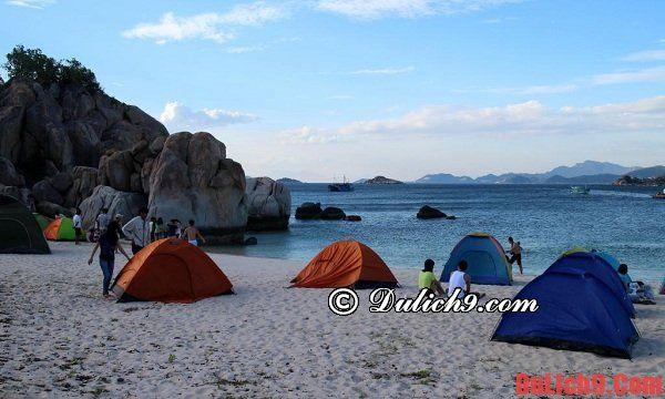 Nơi lưu trú khi du lịch đảo Bình Hưng