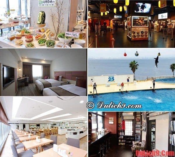 kinh nghiệm đặt phòng khách sạn và địa chỉ một số khách sạn nên ở khi du lịch Fukuoka tự túc, tiết kiệm