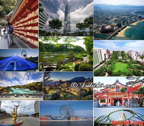 Những địa điểm du lịch nổi tiểng, hấp dẫn và nên đi nhất khi du lịch Fukuoka, Nhật Bản