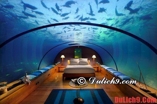 Kinh nghiệm đặt phòng khi du lịch Maldives