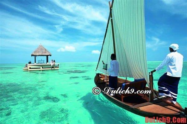 Nên đi đâu chơi khi du lịch Maldives?