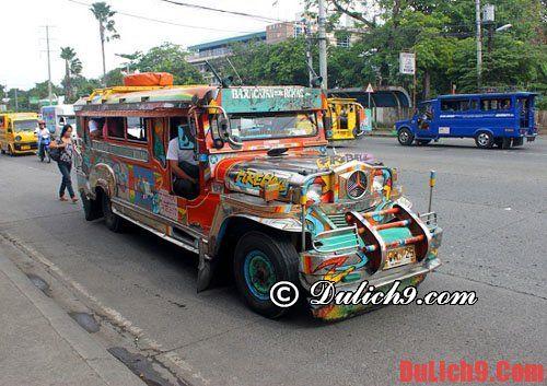 Kinh nghiệm lựa chọn phương tiện di chuyển Manila