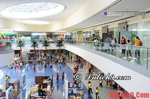 Kinh nghiệm du lịch Manila mua sắm và ăn uống