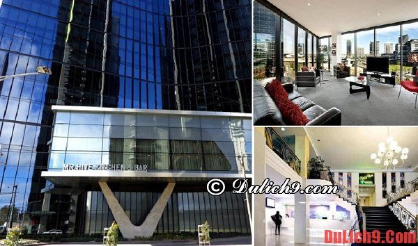 Thuê khách sạn ở Melbourne