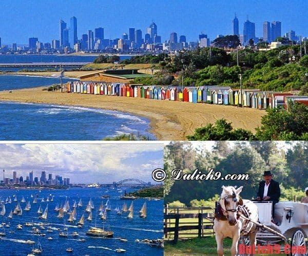 Địa chỉ không thể bỏ qua khi du lịch Melbourne