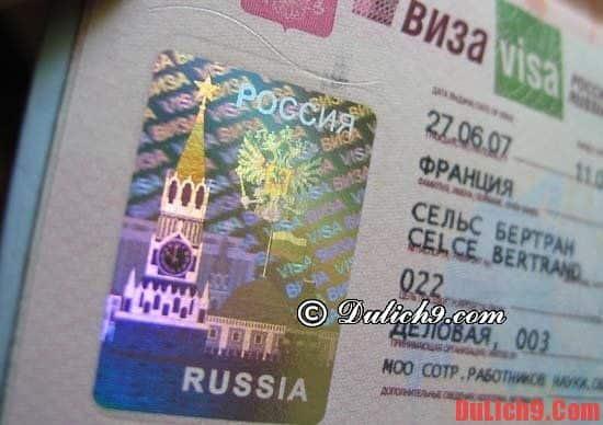 Hướng dẫn xin visa du lịch Moscow, Nga nhanh chóng và thuận lợi