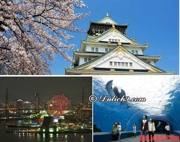 Địa điểm tham quan ở Osaka