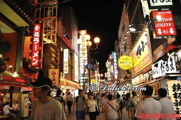 Tư vấn, kinh nghiệm du lịch Osaka tự túc, giá rẻ