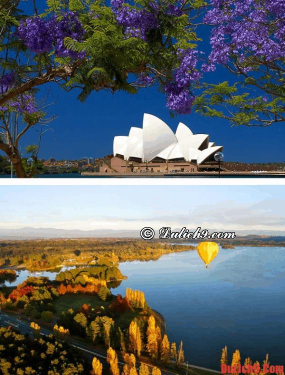 Thời điểm nên du lịch Sydney, Úc tốt nhất, tuyệt vời nhất