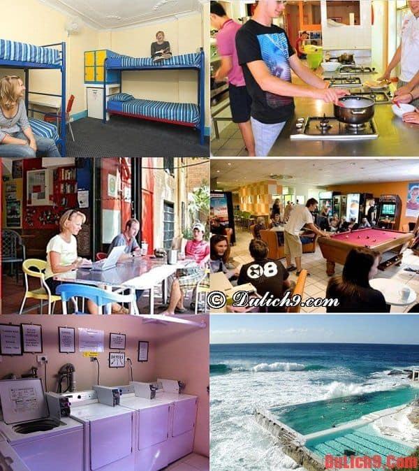 kinh nghiệm đặt phòng khách sạn, nhà nghỉ, Dorm giá rẻ, chất lượng và an toàn khi du lịch Sydney